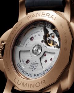 PAM1112 Caseback Panerai watches and wonders
