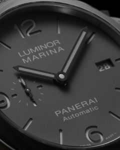 PAM1661 Dial Close Up Panerai watches and wonders