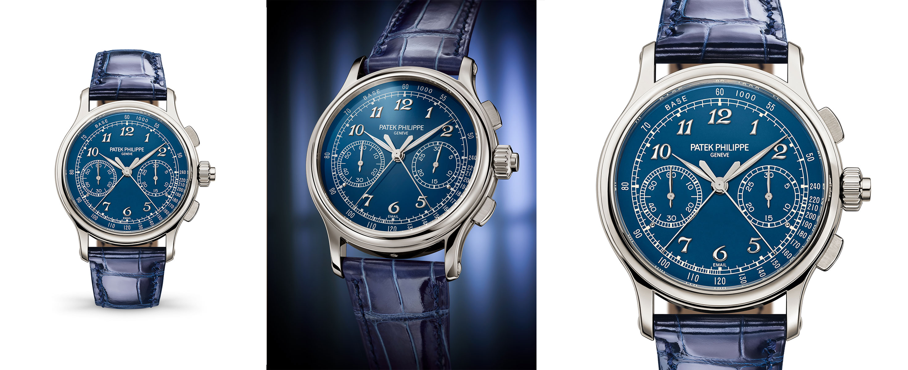 Three new grand complications Ref. 5370P-011 Split-Seconds Chronograph