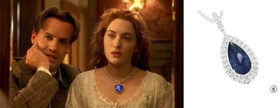 Best Jewellery from the Movies Titanic Heart of the Ocean