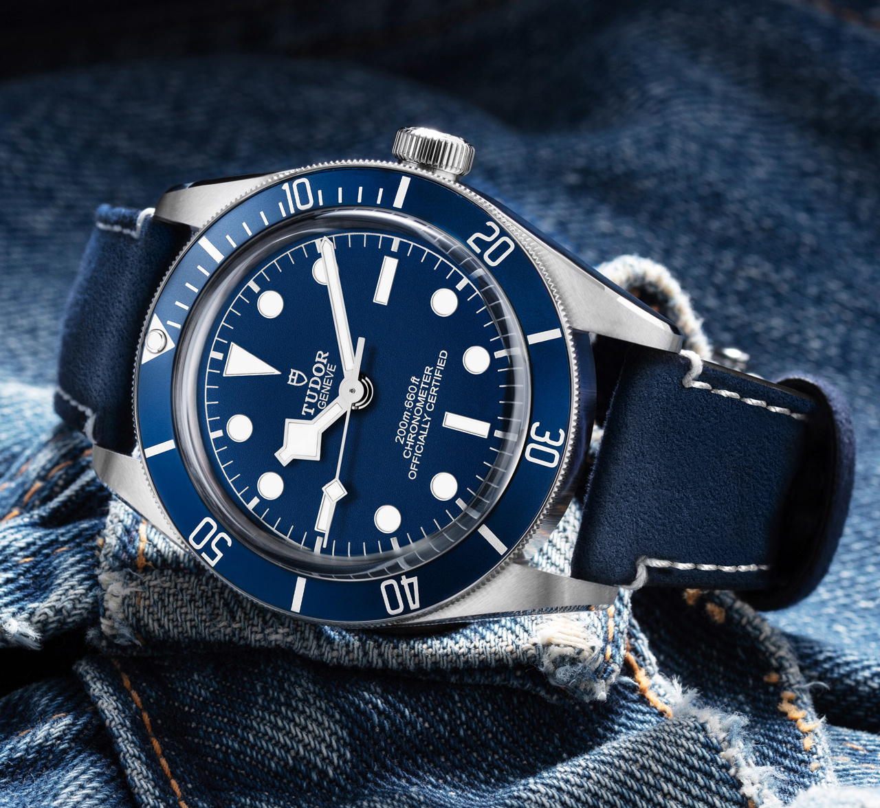 "Black Bay Fifty-Eight ""Navy Blue"""