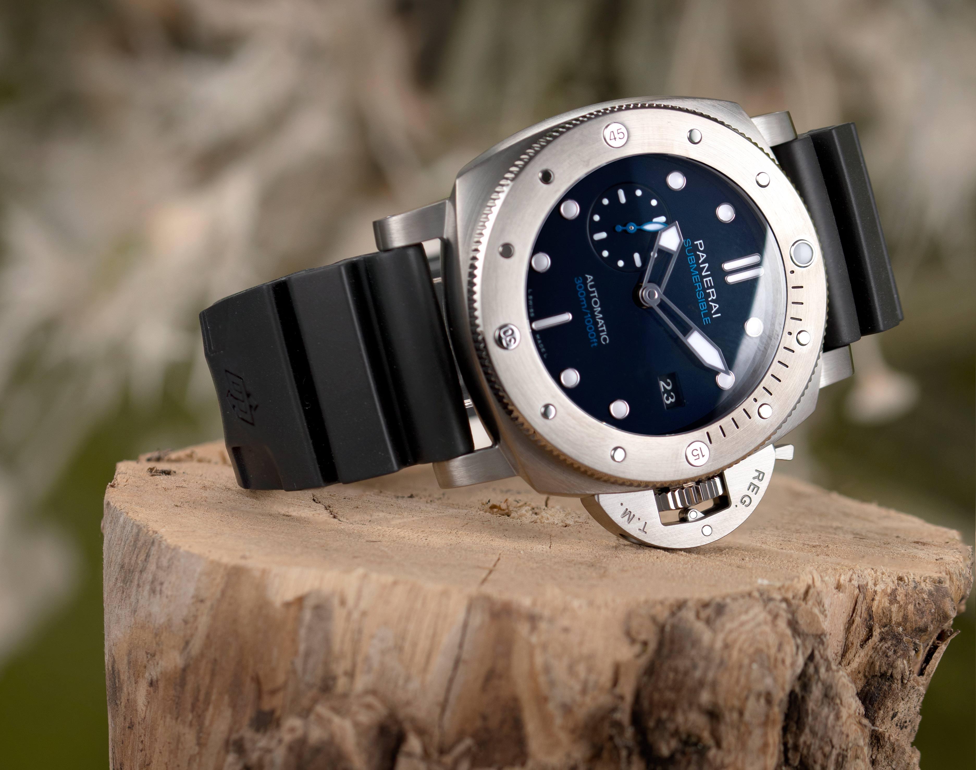 Panerai diving watch