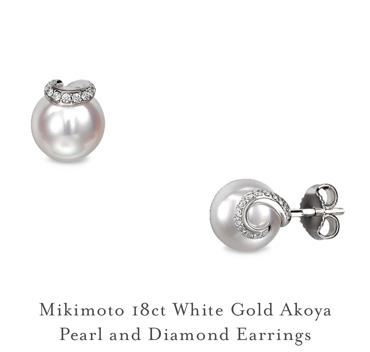 Your Style Mikimoto Earrings