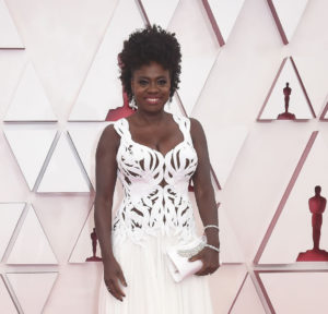Viola Davis at Oscars