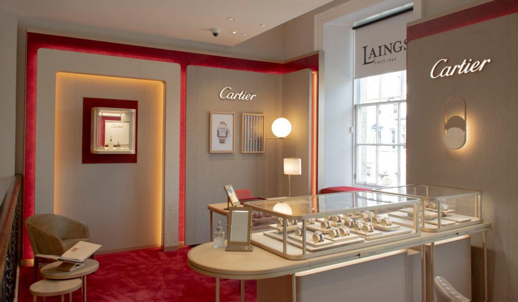 Cartier showroom