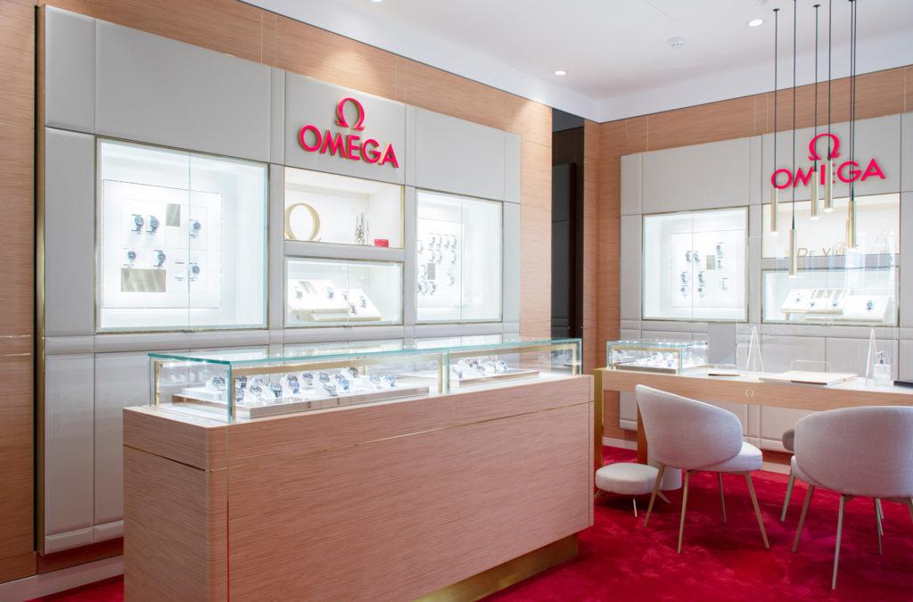 omega showroom