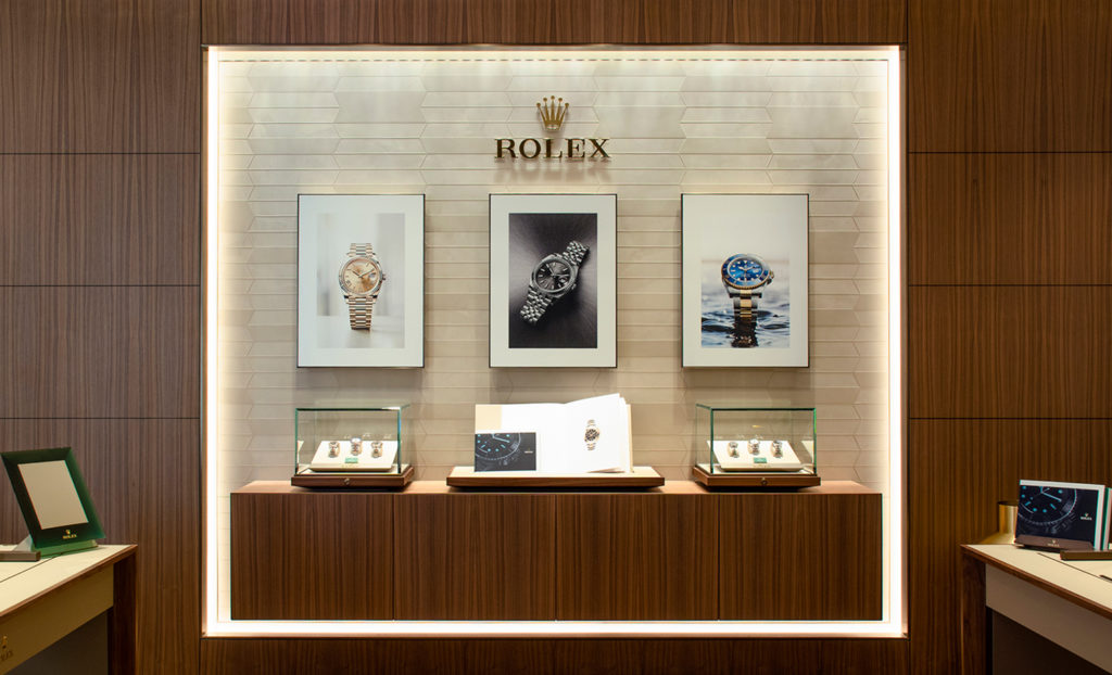 rolex store-in-store