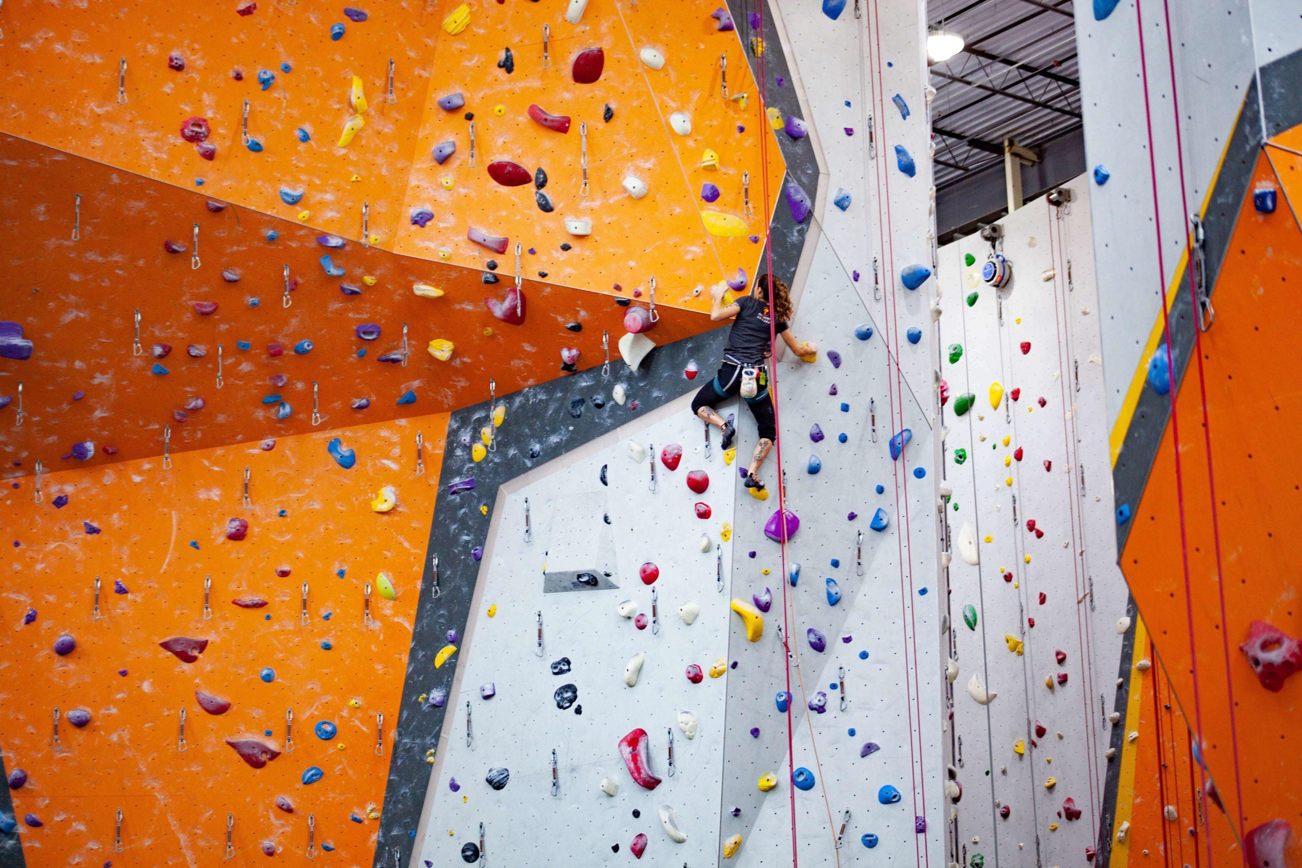 Olympic Wall Climbing