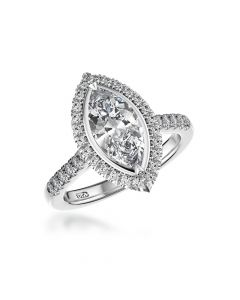 preowned marquise diamond ring
