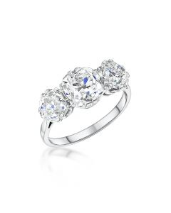 3.93ct Pre-Owned Diamond Ring