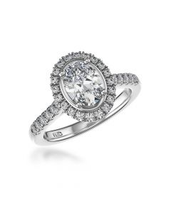 Pre-Owned Oval Diamond Ring