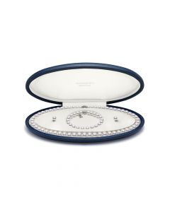 Mikimoto 18ct White Gold Akoya Pearl Jewellery Set