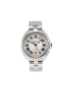 Pre-Owned Cle De Cartier Unisex Watch 42mm M3850 stainless steel