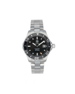 Pre-owned Tag Heuer Aquaracer Gents Watch WAN2110 41mm