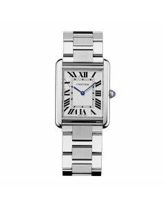 Large Cartier Stainless Steel Tank Solo W5200014