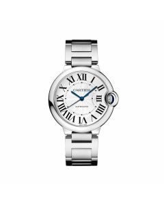 36mm Stainless Steel Ballon Bleu de Cartier