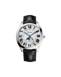 Pre-Owned Drive de Cartier Moon Phase WSNM0008