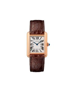 Small Cartier Tank Solo in Rose Gold