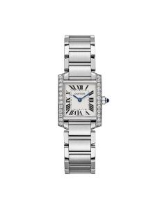 Ladies Cartier stainless steel Tank Francaise 25mm