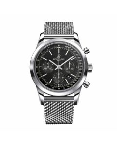 Pre-Owned  Breitling Transocean Gents Watch 43mm AB015212/BA99/154A