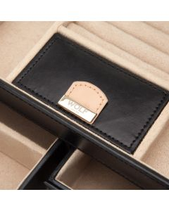 closeup interior jewellery box