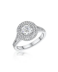 Platinum Diamond 0.91ct Diamon
