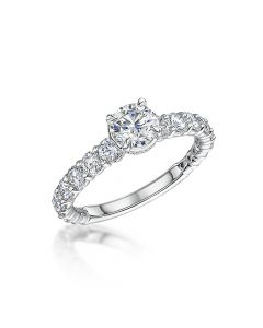 forevermark 0.70ct diamond rin