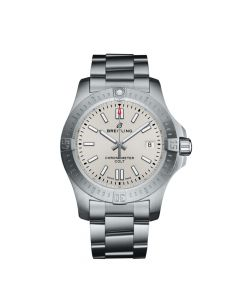 Silver Dial Breitling Colt