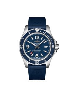 blue Breitling Superocean