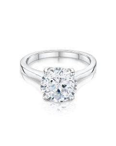 Esme platinum solitaire diamon