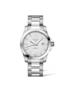 Longines Conquest Steel Watch