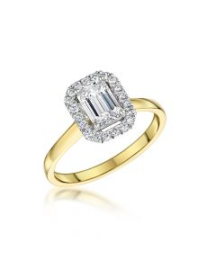 Yellow Gold 1.00ct Diamond Rin