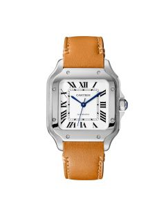 Cartier Santos Brown Calfskin