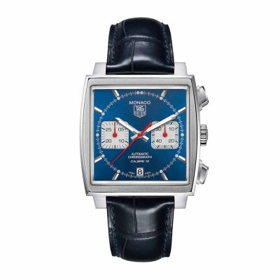 TAG Heuer Monaco Calibre 12 Gents Watch 39mm CAW2111.FC6183