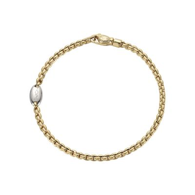 Fope Eka Tiny 18ct Yellow & White Gold bracelet