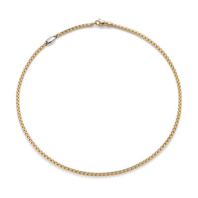 18ct Yellow Gold EKA Link Necklace