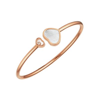 Chopard Happy Hearts Mother of Pearl Bangle