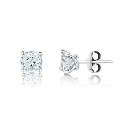 Esme 18ct White Gold 0.25ct Diamond Earrings
