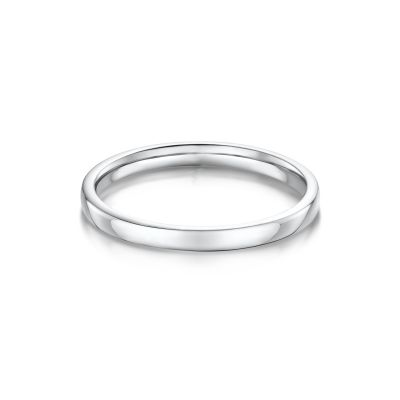 18ct White Gold Isabella Wedding Band