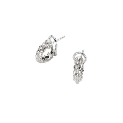 Fope 18ct White Gold Eka Tiny Earrings